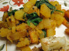 Indian Spiced Spinach With Potatoes. Recipe by Chef Edlear