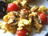Scrambled Eggs With Mushrooms. Recipe by Sara 76