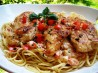 Chicken With Tomato Basil Cream Sauce. Recipe by daisygrl64