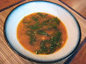 Savory Slow Cooker Bean and Green Soup. Recipe by yogiclarebear