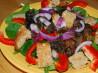 Warm Mushroom & Wilted Spinach Salad