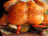 Garlic Roast Chicken (Barefoot Contessa). Recipe by KissKiss