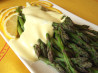 Spanish Tapas - Asparagus W/Orange and Lemon Sauce. Recipe by Deantini