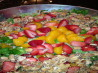 Betty's Strawberry-Mandarin Salad. Recipe by Carol's Mistletoe Kitchen