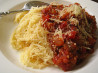 Sausage Eggplant Pasta Sauce. Recipe by Irmgard