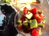 Tomato Avocado Salsa. Recipe by Nyteglori