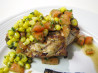 Argentinean Garlic Chicken With Corn, Tomato and Parsley Sauce. Recipe by Buster's friend