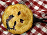 Johnny Jalapeno's Cast-Iron Blueberry Pie. Recipe by 2Bleu