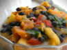 Mango and Black Bean Stew. Recipe by SAHS