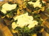 Little Wild Sorrel and Herb Tarts With Melted Goat's Cheese. Recipe by French Tart