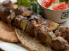 Spicy Lamb Shish Kebabs With Greek Pita Bread. Recipe by UmmBinat