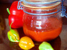 Hot Pepper Paste Like Sambal Oelek. Recipe by Boomette