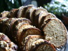 Peanut Butter Bundt Cake With Chocolate Glaze. Recipe by ratherbeswimmin'