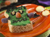 Green Halloween Monster Treats™. Recipe by KELLOGG'S® RICE KRISPIES®