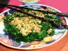 Gomae - Japanese Style Spinach Salad