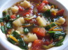 Spicy Vegetable Soup. Recipe by LOUISE GOLDEN