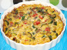 Crustless Vegetable Quiche. Recipe by Stuuuaaart