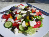 Greek Salad. Recipe by lizeroo