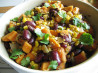 Sweet Potato, Corn & Black Bean Hash. Recipe by Debbwl