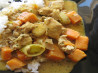 Yellow Curry Chicken and Sweet Potatoes. Recipe by keeney