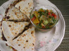 Quick and Healthy Black Bean Quesadillas. Recipe by SashasMommy