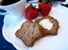 Low Fat Strawberry Banana Bread. Recipe by Ms. Valeriah