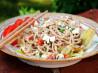 Spaghetti Salad With Tomatoes, Feta and Pesto Sauce (Can Be Gf)