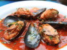 Stuffed Mussels in Spicy Tomato Sauce. Recipe by alfrescoacsi