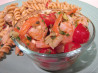 Cat Cora's Greek Shrimp and Caper Salad. Recipe by Pesto lover