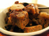 Banana Chocolate Chip Bread Pudding (Vegan). Recipe by Mindelicious
