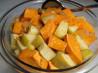 Sweet Potato and Apple Salad. Recipe by HokiesMom