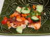Savory Summer Salmon and Refreshing Relish Recipe