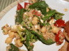 Quinoa, Garbanzo & Spinach Salad W/ Smoked Paprika Dressing. Recipe by Dr. Jenny