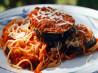 Garden Fresh Eggplant Parmesan. Recipe by Chef Curt