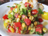 Spicy Mexican Salad (Vegan With Raw Option). Recipe by magpie diner