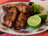 Ginger, Garlic, and Honey Grilled Baby Back Ribs. Recipe by AZPARZYCH