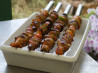 Scallop and Bacon Kabobs. Recipe by breezermom
