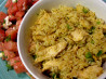 Curry Chicken Lime Rice Bowl. Recipe by gailanng