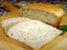 Asiago Herb Bread (one pound loaf). Recipe by Sue Lau