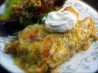 Chicken Enchiladas Verdes. Recipe by WiGal