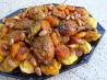 Tagine De Poulet Aux Abricots Et Aux Amandes-Chicken Apricots Al. Recipe by Annacia