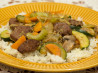 Mongolian Lamb Stir-Fry With Rice. Recipe by I'mPat