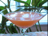 Pineapple Upside Down Cake Martini. Recipe by DeeVaFoodie