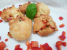 Red Pepper Asiago Gougere' Cheese Bites. Recipe by Lainey6605