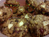 Gluten Free Apple Cherry Cranberry Coconut Pecan Granola 'Muffin. Recipe by HAPPYASASAM