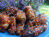 Chili-Glazed Chicken Wings With Toasted Sesame Seeds. Recipe by diner524