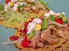 Cobb Salad Tacos. Recipe by Lavender Lynn