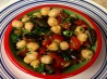 Chickpeas Salad With Black Olives. Recipe by Newbie.Cook