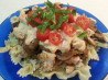 Creamy Tuscan Pasta Sauce With Chicken and Balsamic Mushrooms. Recipe by licked_cupcake