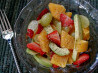 Leftover fruits breakfeast salad. Recipe by Nat Da Brat